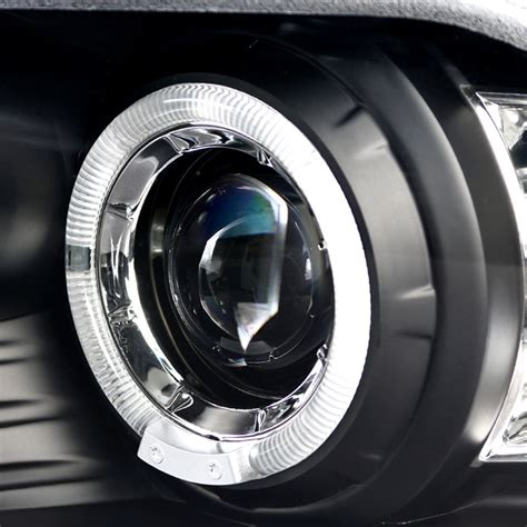 Lu Hid Xenon Projector hid xenon 2010 2012 ford mustang eye halo led