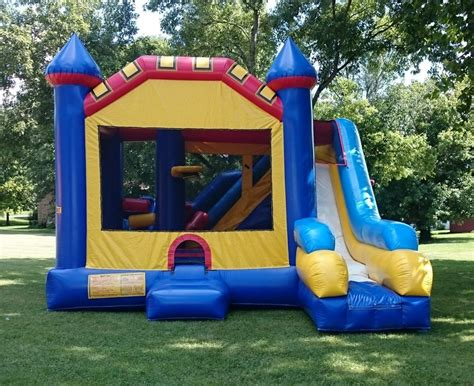 inflatable bounce houses water slide rentals in