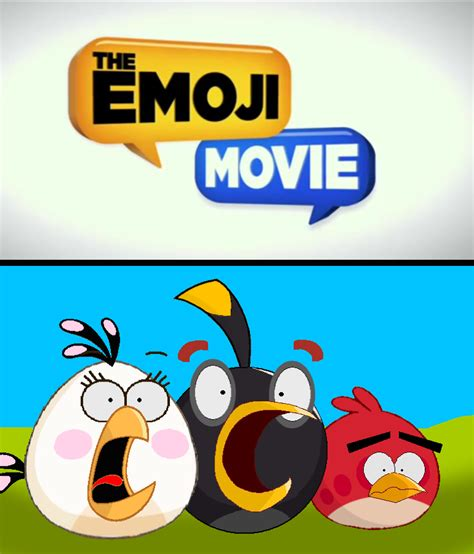bird film emoji the bomb gang s reaction to the emoji movie by jared33 on