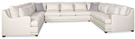 Simple style large u shaped sectional sofa