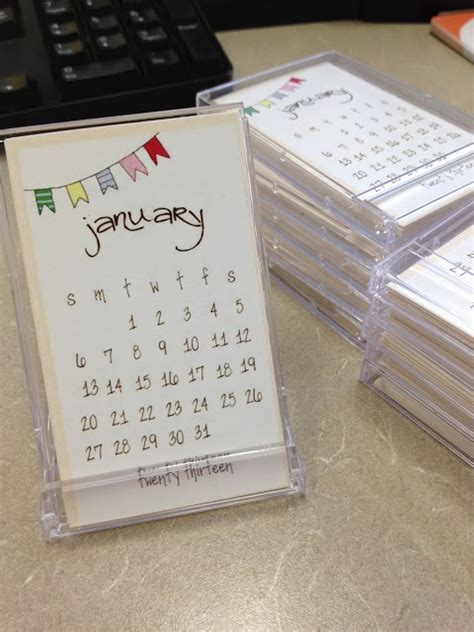 Paper Craft Calendars - 46 best images about paper crafts calendars on