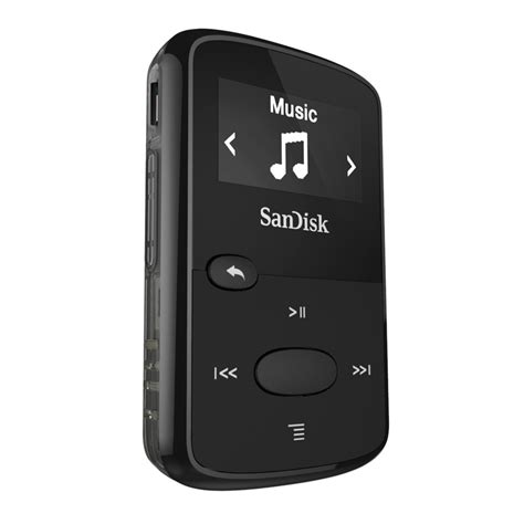 Mp3 Sport Player New new sandisk clip jam 8gb mp3 player for sport black lcd