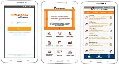 icici bank mobile banking apps icici bank launches mobile banking app competition with
