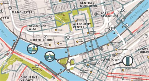 map of pittsburgh pittsburgh bike map version 5 to be released at bikefest kickoff bikepgh bikepgh