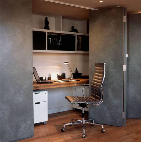 small apartment design idea create  home office   closet