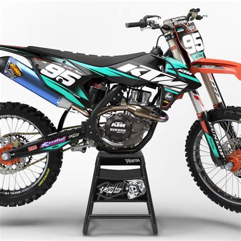Ktm Mx Graphics Rival Ink Design Co Custom Motocross Graphics Product