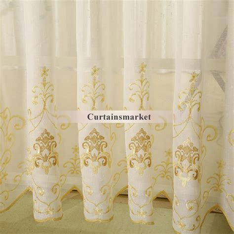 Light Yellow Sheer Curtains Beautiful And Stylish Sheer Curtains With Light Yellow Patterns
