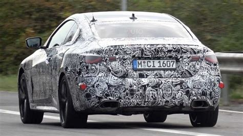 bmw  series coupe caught testing  full