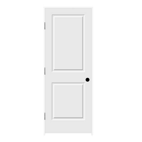 jeld wen 30 0 in x 80 in smooth 2 panel solid core jeld wen 30 in x 80 in primed right hand c2020 2 panel