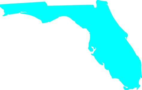 Florida State Outline Png by Florida Outline Clip At Clker Vector Clip Royalty Free Domain