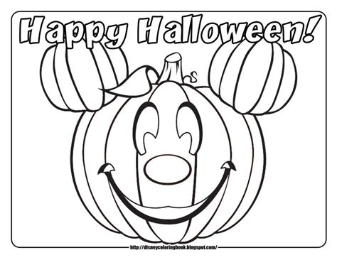 coloring pages photo disney halloween coloring pages