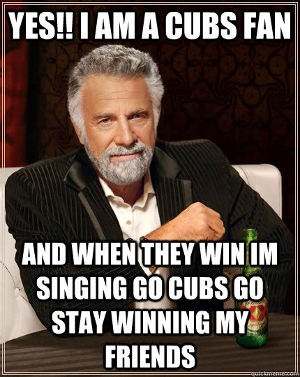 Cubs Fan Meme - trumpets they go meme memes