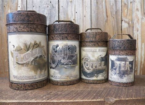 old fashioned kitchen canisters 7 country coffee canisters you need to check out