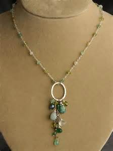 peridot chrysoprase green onyx amazonite and pearl
