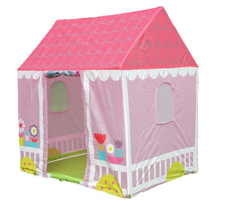play tent house pink printiprincess castle play tent house foldable playhouse outdoor indoor tents