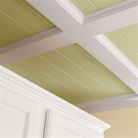 how to cover popcorn ceiling with beadboard decorative kitchen ceiling update your kitchen or any