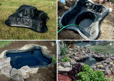 Backyard Pond Kit Water Gardens And Garden Pond Kits For Any Level Of Water