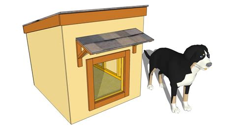 dog house plans for large dog simple dog house plans myoutdoorplans free woodworking plans and projects diy