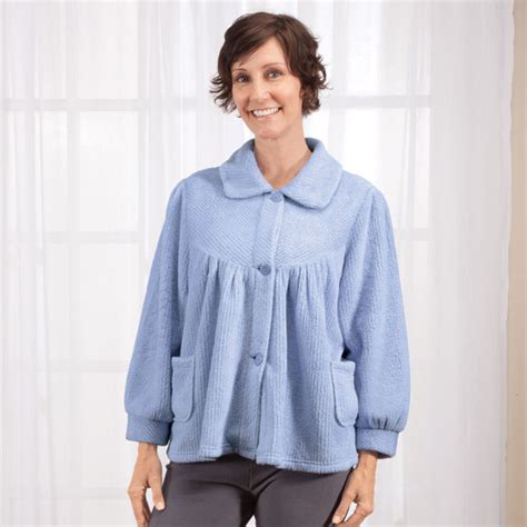 chenille bed jacket chenille bed jacket women s bed jacket walter drake