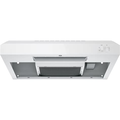 ge under cabinet range hood ge 24 quot convertible range hood white on white at
