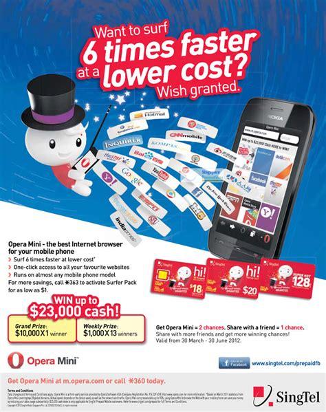 Prepaid Gift Cards Singapore - hi card prepaid opera mini 187 singtel smartphones tablets home mobile broadband