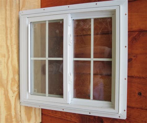 Plastic Shed Windows by Vinyl Windows Vinyl Shed Windows