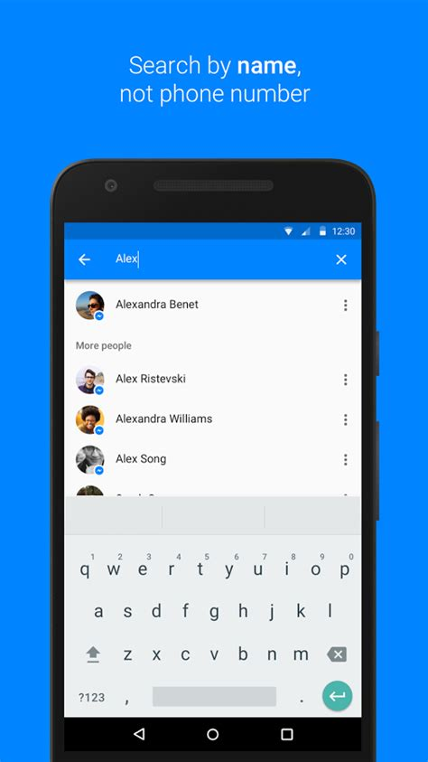 messenger text and chat for free for android