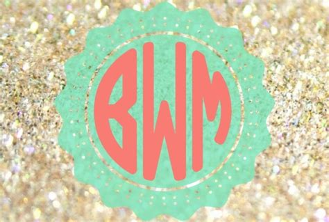create a monogram wallpaper video search engine at create 5 monogrammed backgrounds for your desktop or phone