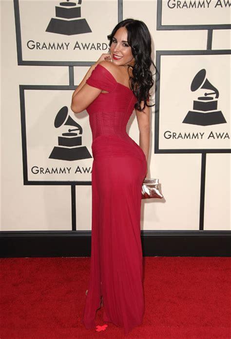 2008 Grammy Awards Best Dressed by Mayra The Shoulder Prom Dress Grammy