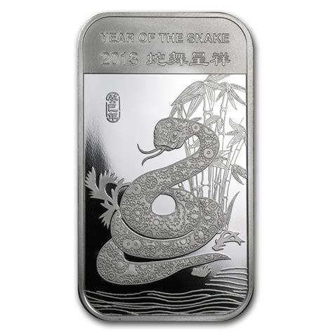 1 oz silver bar 1 oz silver bar apmex 2013 year of the snake 1 oz