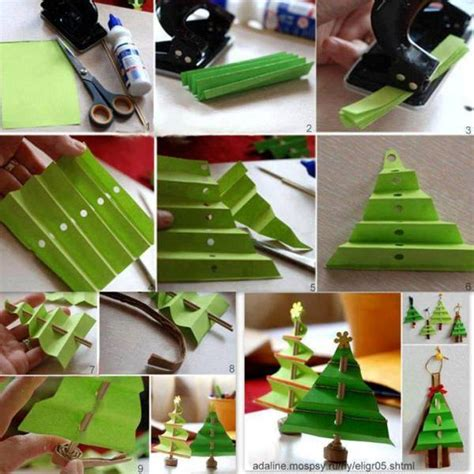 diy crepe paper christmas tree home design garden