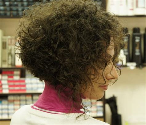 stacked hair with perm 17 best images about permed bob on pinterest curls