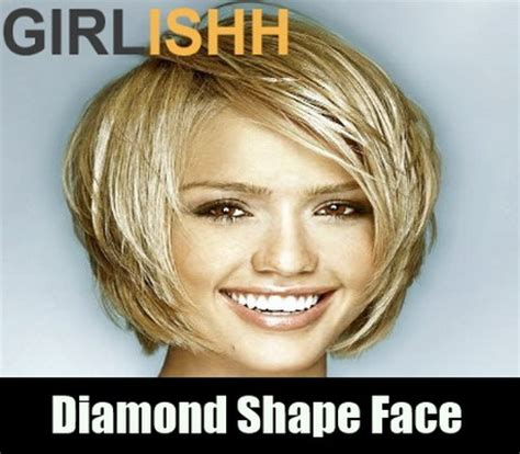 haircuts diamond face hairstyles diamond face