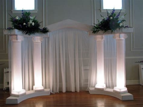 Pillars For Home Decor by Decorating With Columns House Of Paws