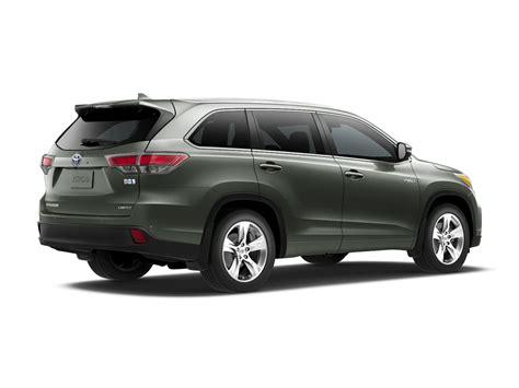 2016 Toyota Suv 2016 Toyota Highlander Hybrid Price Photos Reviews