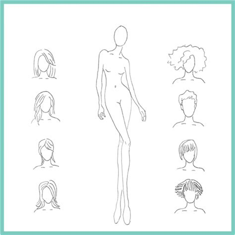 figure templates for fashion illustration print at home fashion figure drawing templates