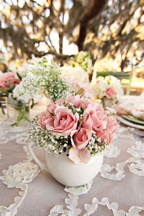 16 Best Charm School Themed Party Images On Pinterest Shabby Chic Table Settings