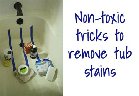 best way to clean bathtub stains experiment in the best products to clean bathtub stains