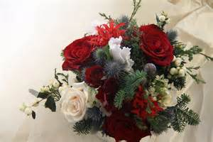 Christmas Wedding Bridal Flowers » Home Design 2017