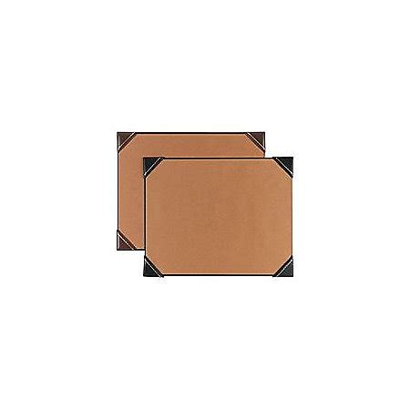 Corner Desk Pad Artistic Imitation Leather Corner Desk Pad 19 X 24 Black By Office Depot Officemax