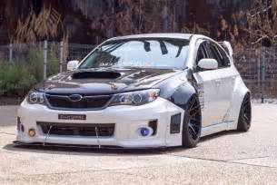 Nissan And Subaru Subaru Wrx With Nissan Skyline Gt R Engine Is The