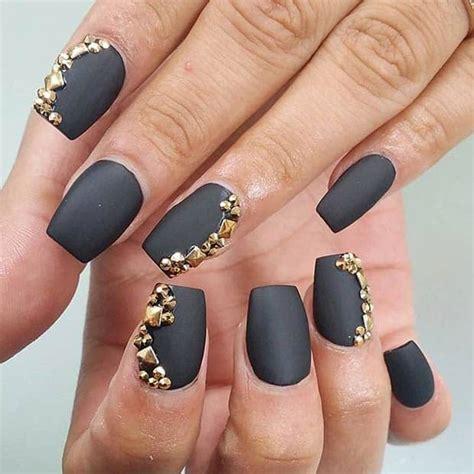 astonishing matte nail designs    love