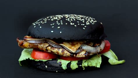 Mcd Burger Peri Peri review black burger in india potful of