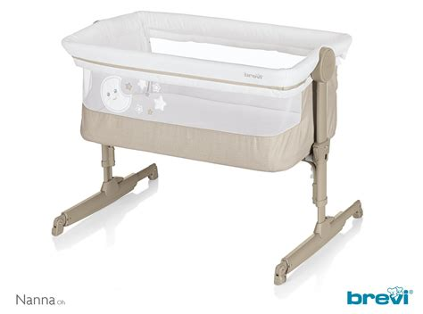 bed bassinet brevi side bed crib nanna oh 2018 beige melange buy at
