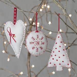 christmas decoration sewing kit by clara notonthehighstreet com