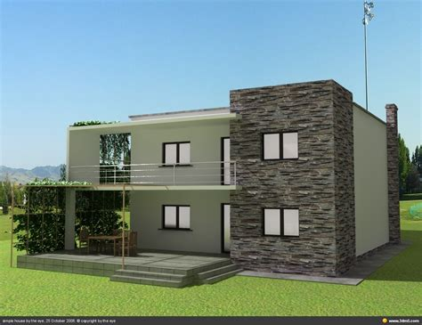 simple model house design simple home building 7493