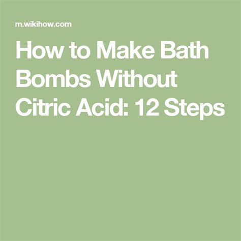 how to make diy bath bombs without citric acid best 25 citric acid ideas on diy bath bombs epsom salt bath and diy bath salts color