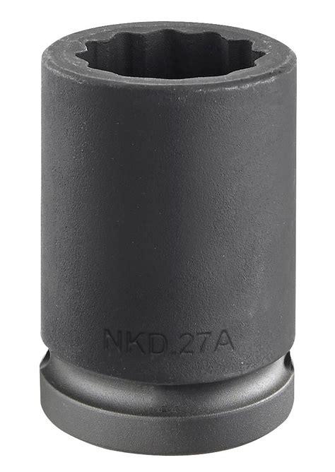 Kunci Sock 21mm 34 Drive Socket 12 Point Crossman Usa facom nkd 16a 3 4 drive bi hexagon 12 point impact socket 16mm primetools
