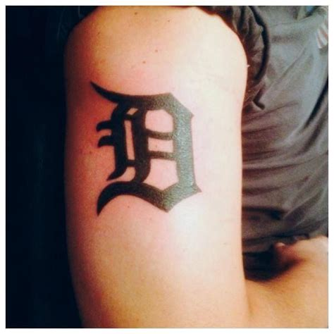detroit tattoo 17 best images about detroit tigers tattoos on