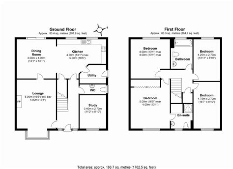 house plan with dimensions escortsea